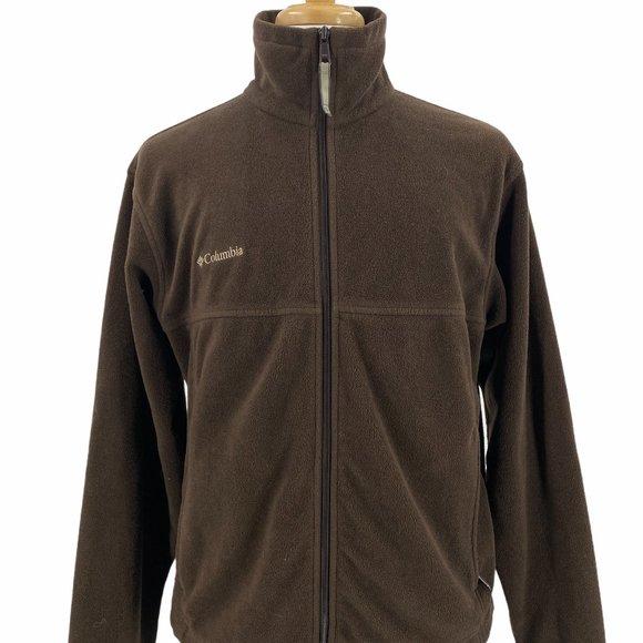 Columbia Men's Casual Outdoor Soft Fleece Full Zip